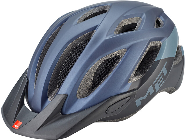 MET Crossover Helmet blue/black